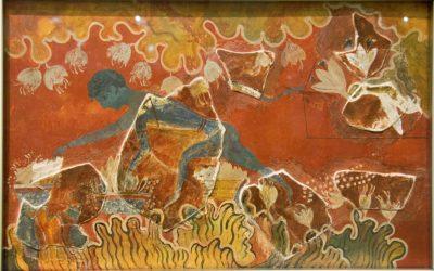History of saffron